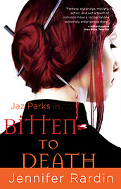 Bitten to Death by Jennifer Rardin, US paperback