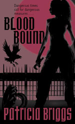 Blood Bound by Patricia Briggs, UK paperback