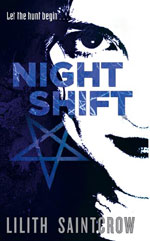 Night Shift by Lilith Saintcrow UK pb