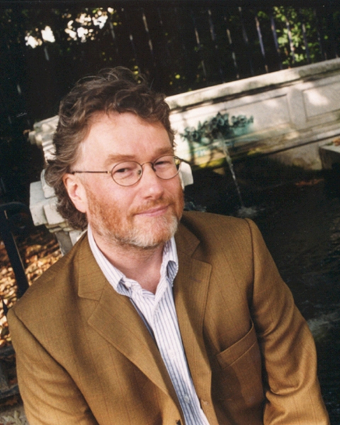 Iain Banks author portrait