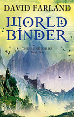 Worldbinder by David Farland - UK paperback
