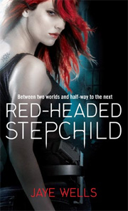 Red-Headed Stepchild, by Jaye Wells, UK paperback
