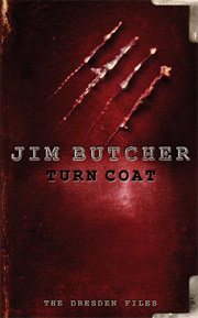 Turn Coat, by Jim Butcher, UK hardback