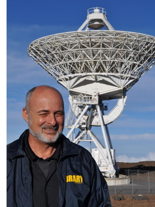 David Brin, author of the near-future science fiction novel EXISTENCE - credit Cheryl Brigham