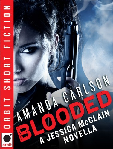Blooded, a novella set in Jessica McLain's word of FULL BLOODED and HOT BLOODED, an urban fantasy series by Amanda Carlson