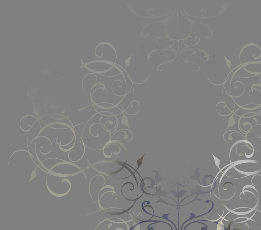 step 4 - curly scroll work for background - creation of fantasy novel WARDS OF FAERIE by Terry Brooks