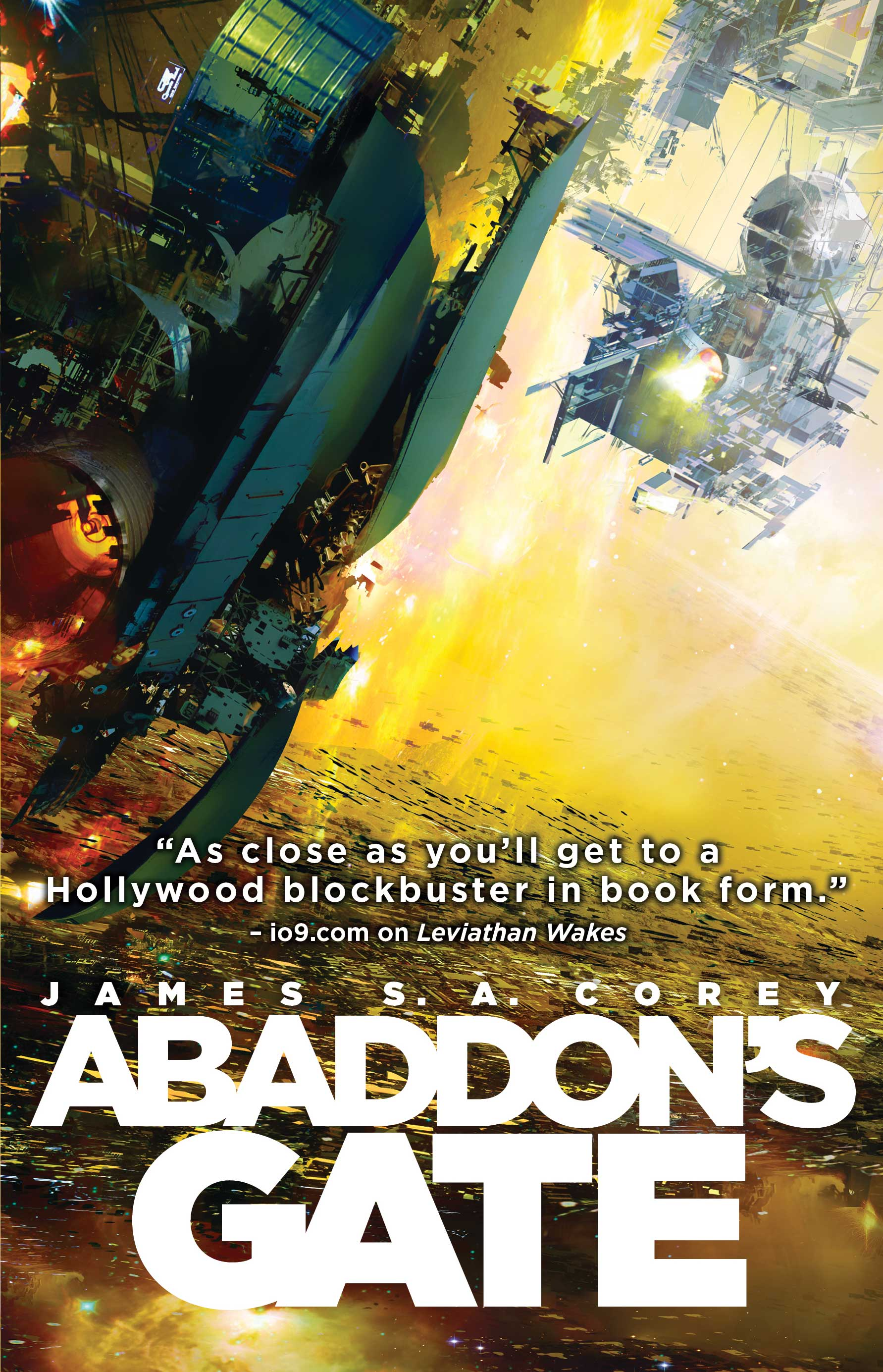 Abaddon's Gate by James S.A. Corey (The Expanse #3) – SFFWorld