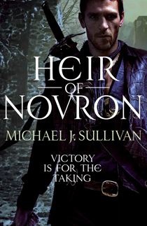 HEIR OF NOVRON UK cover