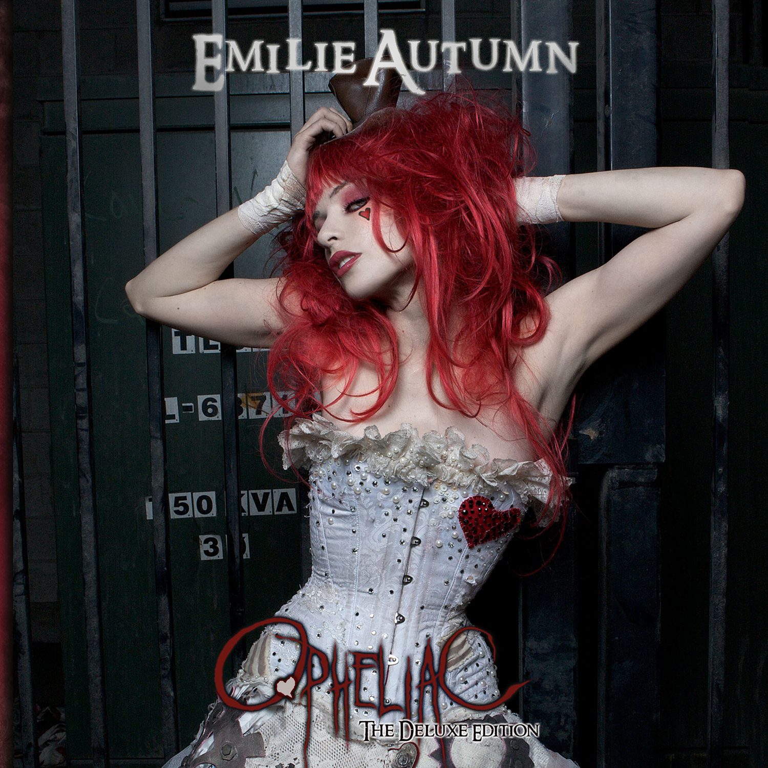 Artwork for Emilie Autumn album Opheliac - the perfect soundtrack for the Immortal Empire series by Kate Locke, which starts with GOD SAVE THE QUEEN