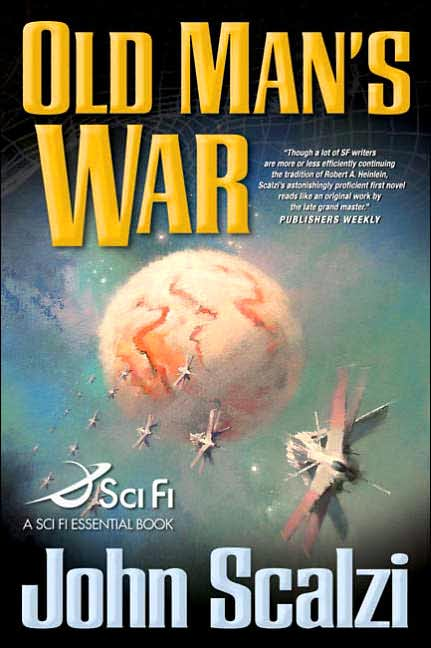 Old Man's War, the most famous science fiction novel by John Scalzi, here interviewing Matthew Stover, author of the Acts of Caine novels