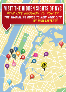 Shambling Guide to NYC map