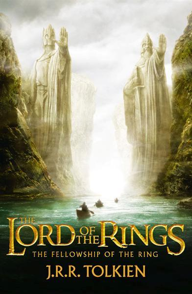 The Fellowship of The Ring by  J. R. R. Tolkien, in a piece on fantasy worldbuilding by Francis Knight, author of Fade to Black