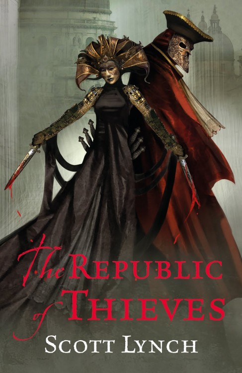 The Republic of Thieves by Scott Lynch, the follow-up to The Lies of Locke Lamora, in an interview with Matthew Stover abotu his gritty heroic fantasy series Acts of Caine