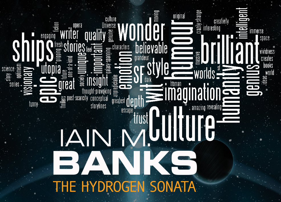 Iain M Banks word cloud