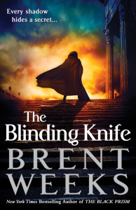 Cover of Brent Weeks's THE BLINDING KNIFE.