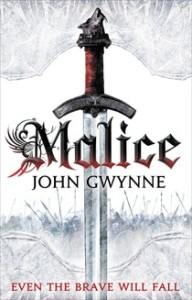 Cover of John Gwynne's MALICE