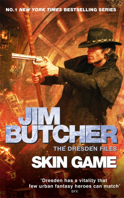 Skin Game by Jim Butcher is a Number One Sunday Times Bestseller!