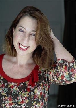 Jenny Colgan aka J T Colgan author photo - her lastest book RESISTANCE IS FUTILE is out in 2015