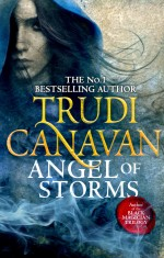 The cover for Angel of Storms by Trudi Canavan, book two of Millennium's rule and sequel to THIEF'S MAGIC