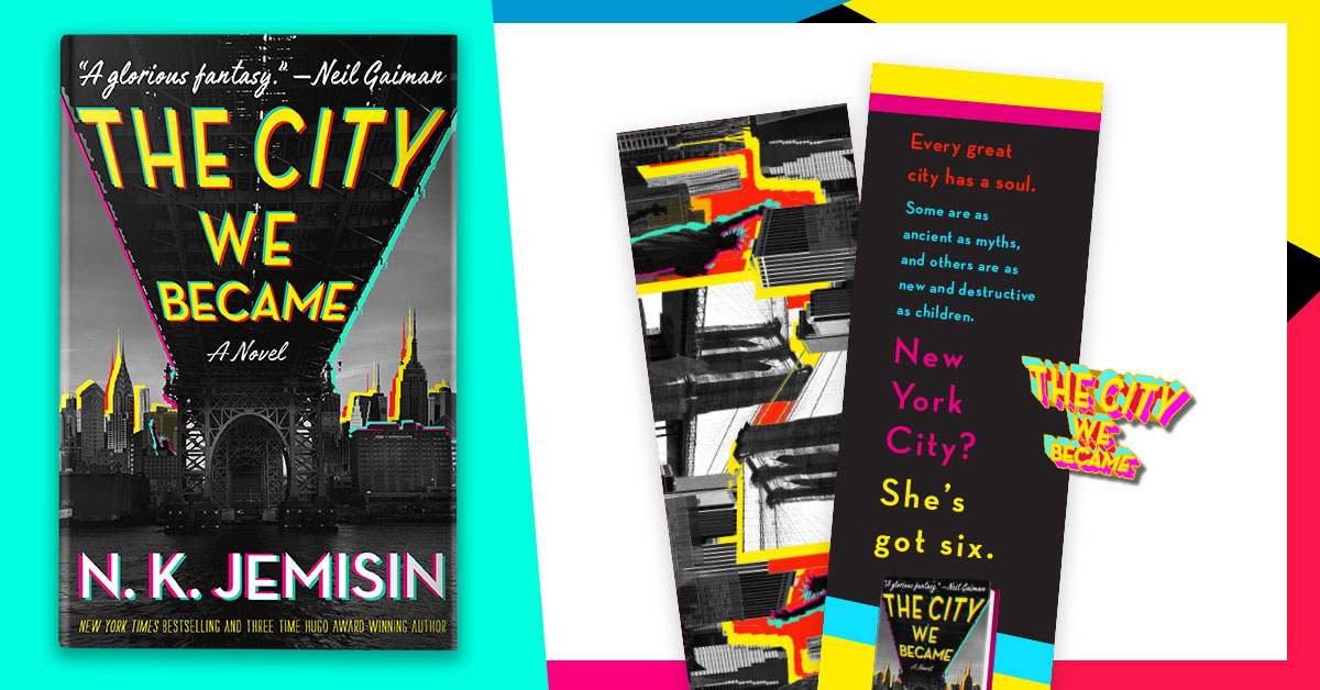 The City We Became signed editions