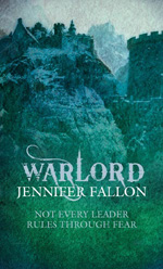 Warlord by Jennifer Fallon, UK paperback