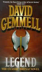 Legend by David Gemmell, UK paperback