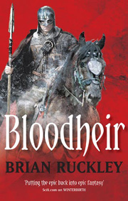 Bloodheir, by Brian Ruckley, UK paperback