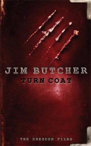 Turn Coat, by Jim Butcher, UK hardback