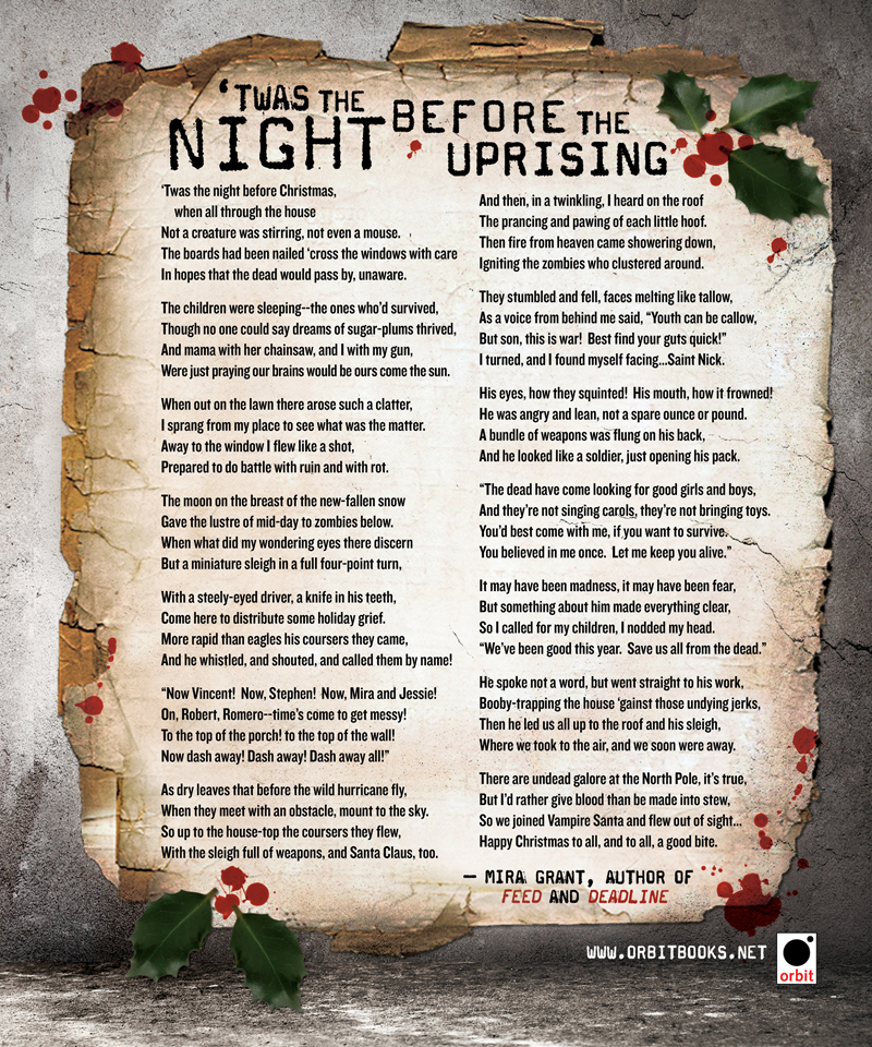 photograph about Twas the Night Before Christmas Printable Book named Twas the Night time Right before the Uprising - Orbit Textbooks