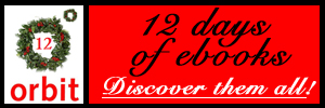Orbit UK's 12 days of ebooks