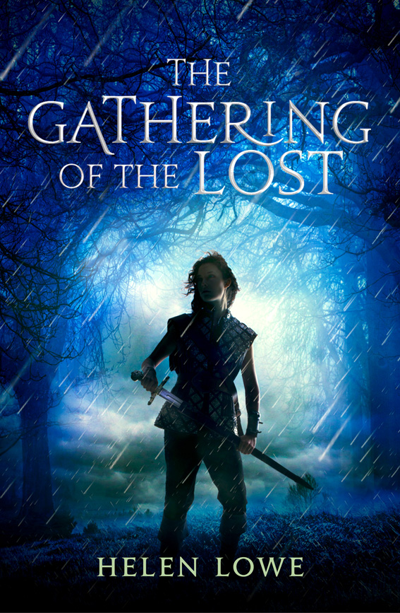 the cover for 'The Gathering of the Lost', the second book in Helen Lowe's fantasy series The Wall of Night
