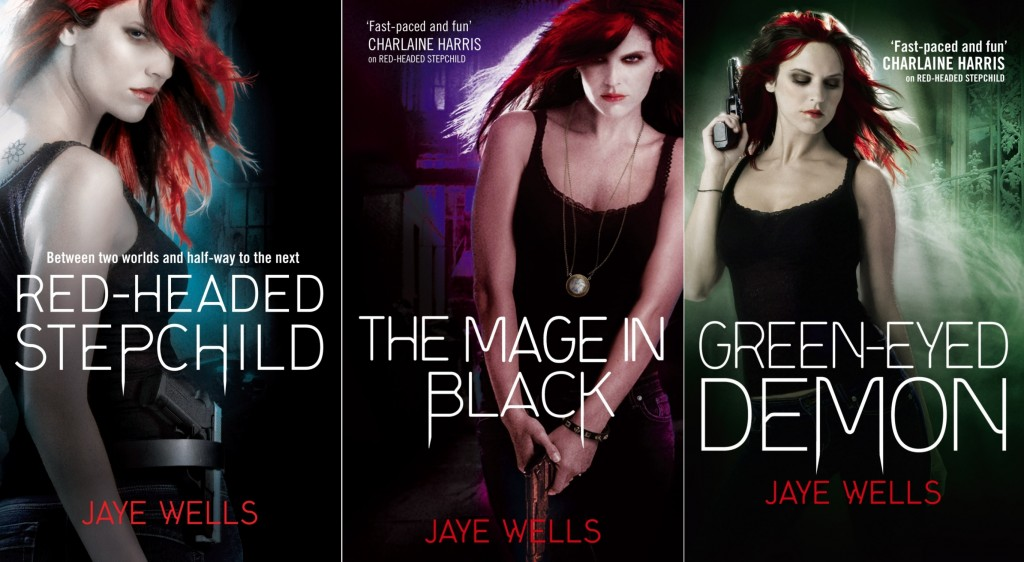 covers for the three Sabina Kane books out before silver tongued demon