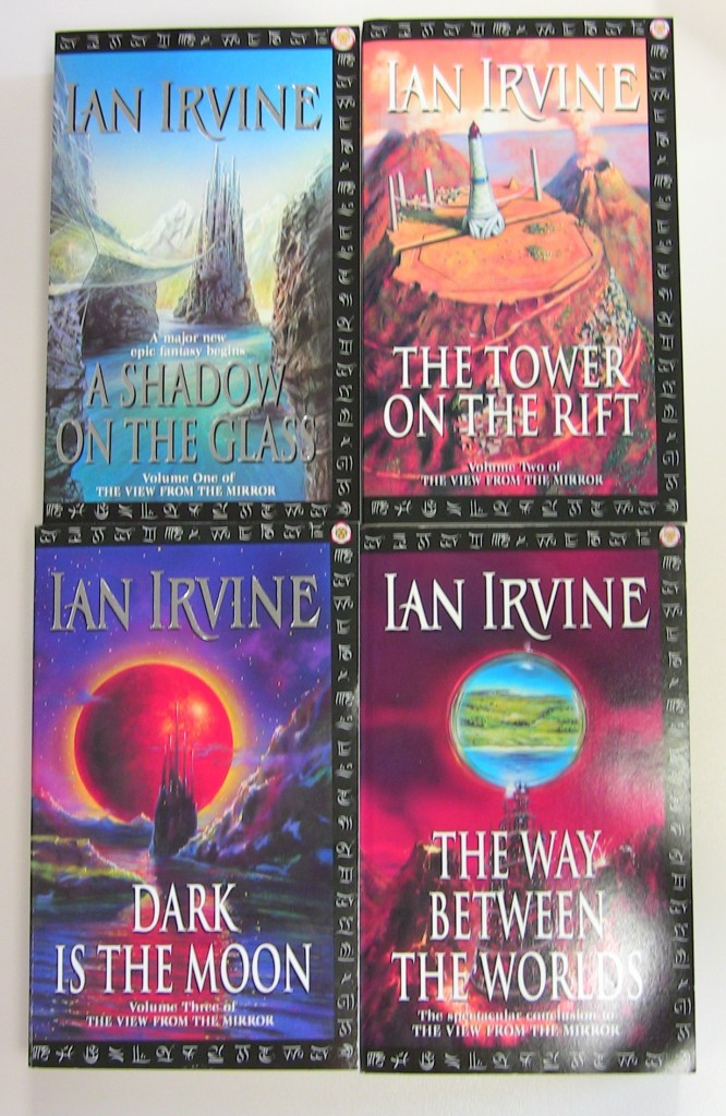The four novels in the View from the Mirror series