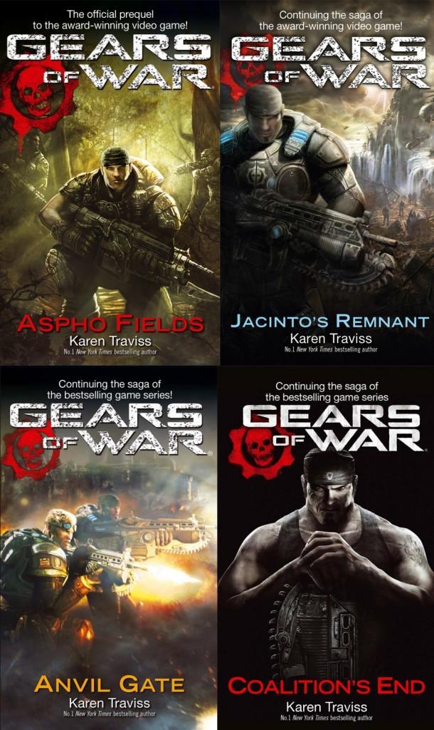 The four Gear of War novels released so far