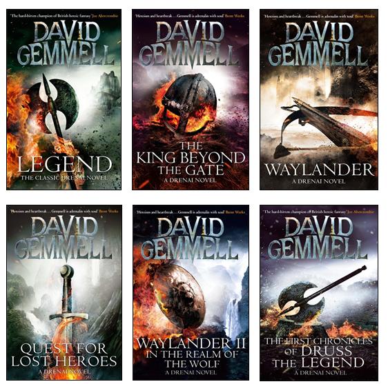 David Gemmell Book Cover Art : Author spotlight david gemmell orbit books
