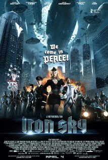 Poster for the Iron Sky film