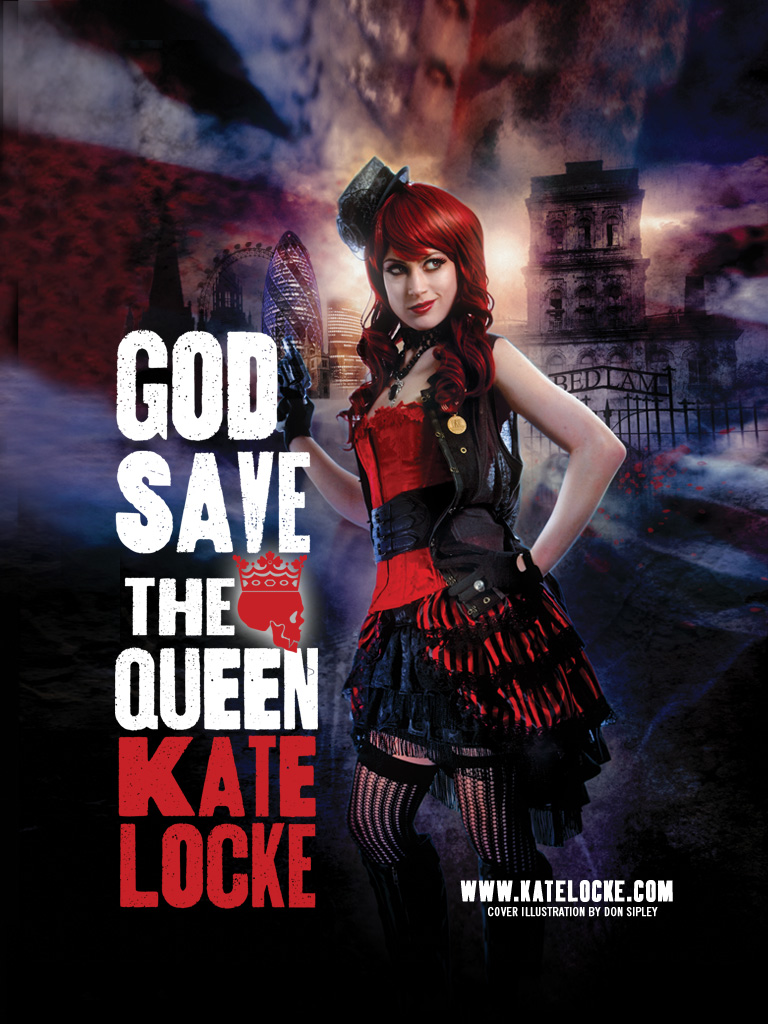 Wallpapers For God Save The Queen By Kate Locke Orbit Books