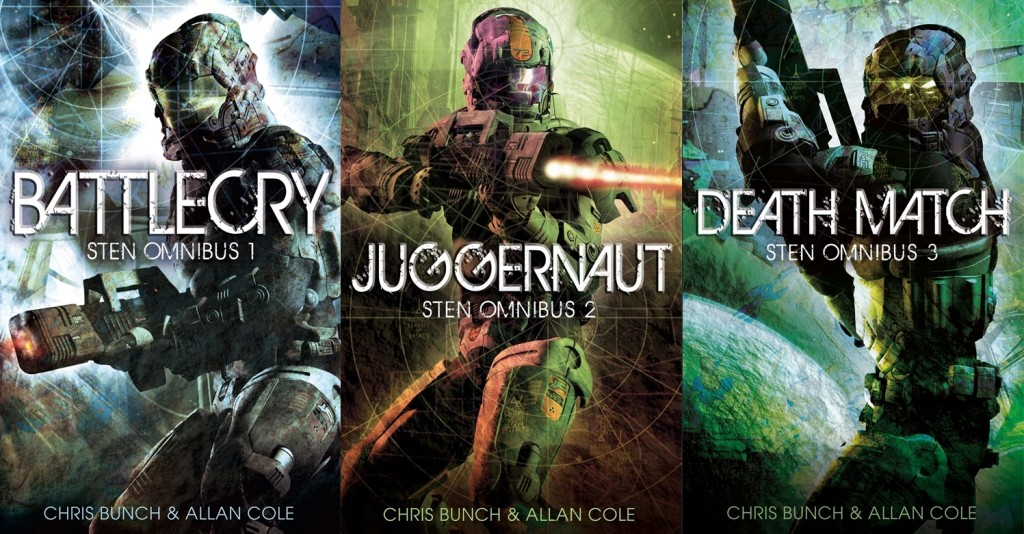 all three omnibuses in the Sten series of space opera adventures