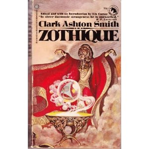 Zothique by Clark Aston Smith, an influence behind John R. Fultz's epic fnatasy books SEVEN PRINCES and SEVEN KINGS