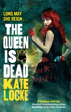 The Queen is Dead - a vctorian punk urban fantasy novel by Kate Locke - and perfect to go with Emile Autumn's album Opheliac