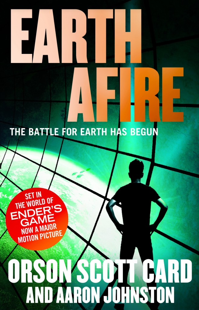 EARTH AFIRE, book two of the First Formic War by Orson Scott Card and Aaron Johnston, a prequel series to the classic novel ENDER' S GAME - now a major motion picture