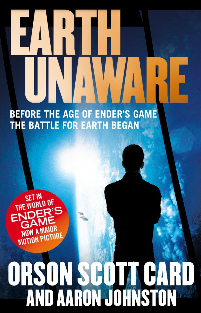 EARTH UNAWARE, book one of the First Formic War by Orson Scott Card and Aaron Johnston, a prequel series to the classic novel ENDER' S GAME - now a major motion picture