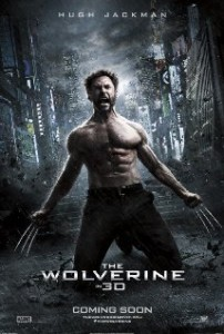 The poster for the new Xmen film The Wolverine 3D coming in 2013 - in an article about genetic technology, superhuman powers and Ian Tregillis's Milkweed novels starting with Bitter Seeds