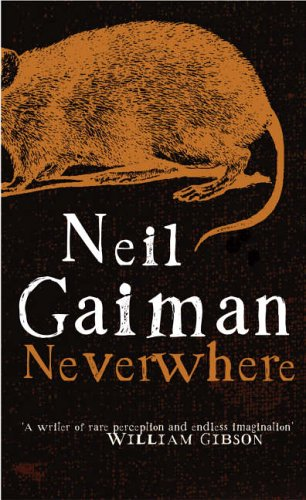 Neverwhere by Neil Gaiman, in a piece on fantasy worldbuilding by Francis Knight, author of Fade to Black