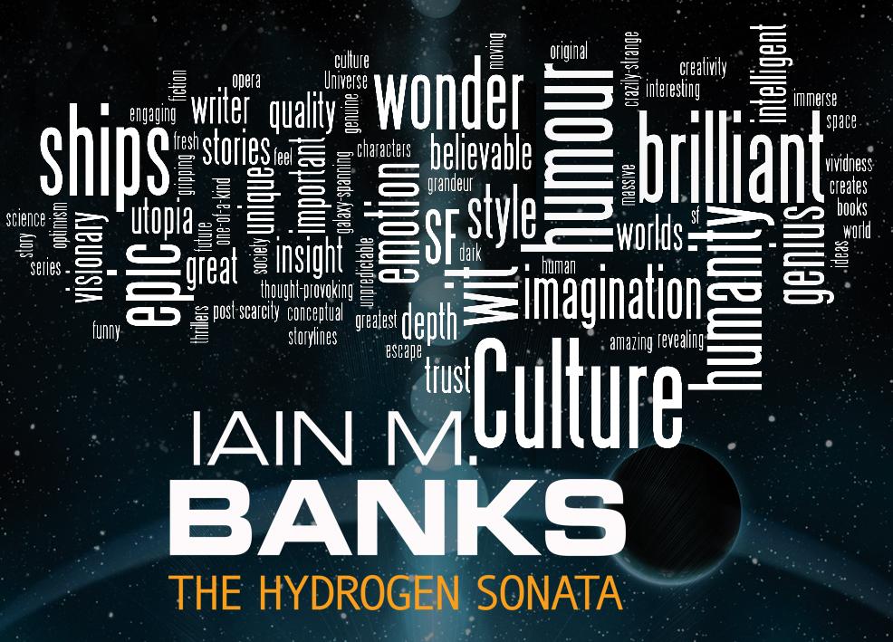 Iain M Banks word cloud