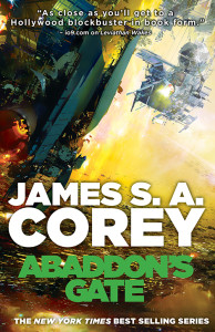 Cover of James S.A. Corey's ABADDON'S GATE.
