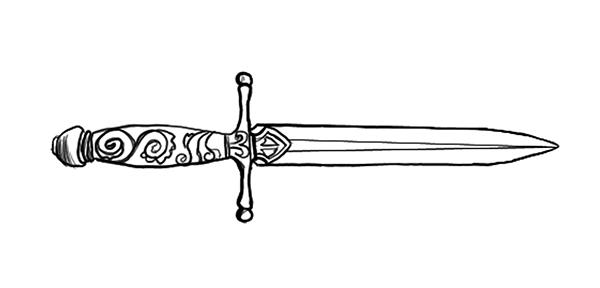 macbeth dagger drawing - photo #20