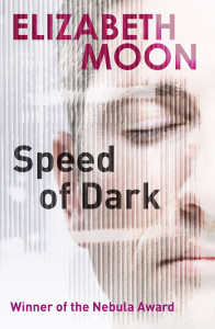 Orbit's new ebook cover for SPEED OF DARK