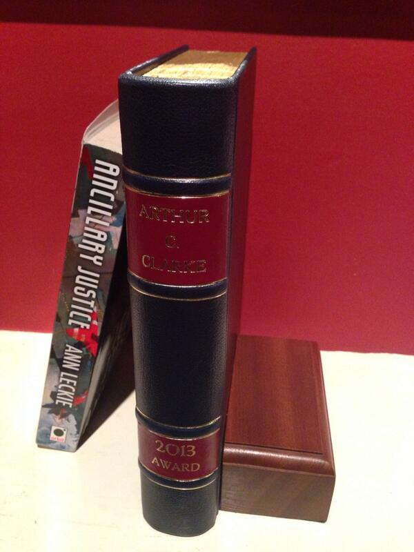 The Clarke Award for ANCILLARY JUSTICE
