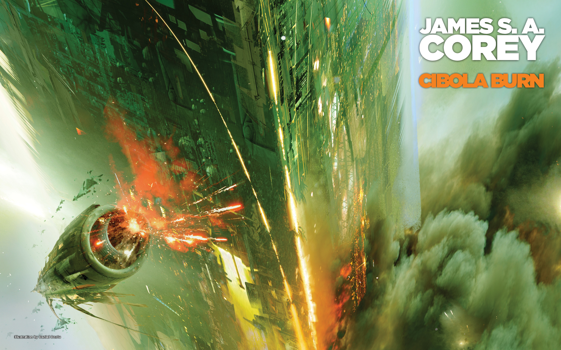 New Wallpapers Cibola Burn By James S A Corey Orbit Books